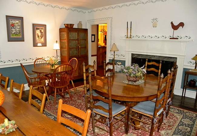 Chipman Inn Dining Room