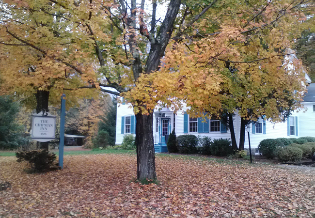 Chipman Inn Fall Leaves Oct 2012