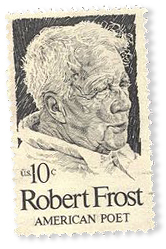 Robert Frost 10 cent Stamp