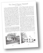 A page from The Daniel Chipman Homestead by William Meacham